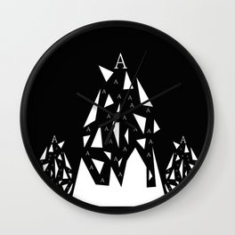 Triangle A Wall Clock
