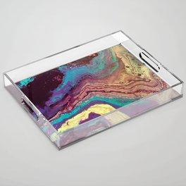 Geode Acrylic Tray
