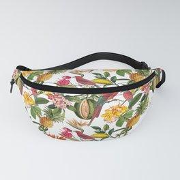 Vintage & Shabby Chic - Spring Tropical Birds Fruit Botanical Garden     Fanny Pack