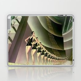 'We Came Here to Shine' - Billy Rose's Acquacade Art Deco 1920's Theatrical Portrait Laptop & iPad Skin