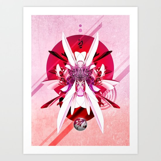 Another Photoshop Robot Art Print