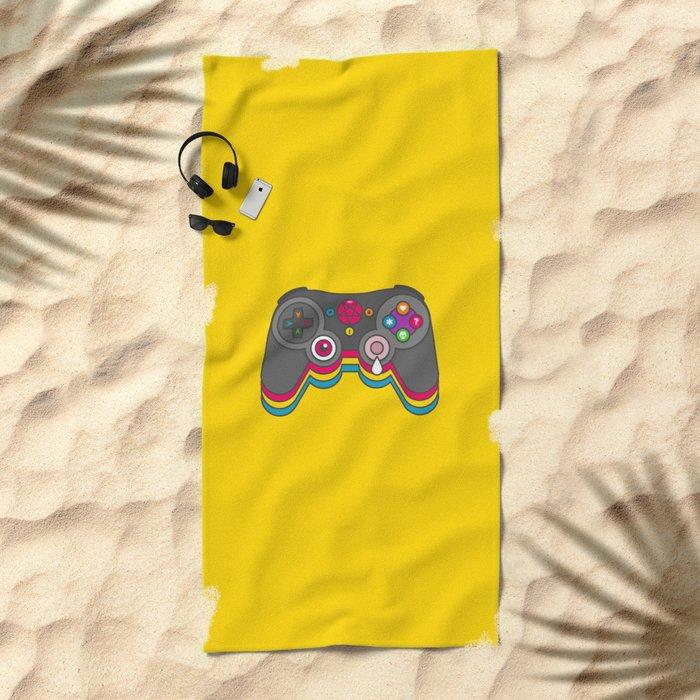 Negative Influences Beach Towel