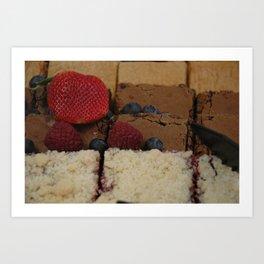 Assorted Desserts Art Print