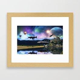 the Ninth Planet Framed Art Print