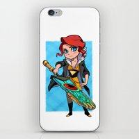 transistor iPhone & iPod Skins featuring Red and Transistor by mcguinnessjohn
