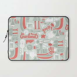 Garland Pattern Laptop Sleeve