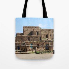 A Taos Pueblo Building Tote Bag