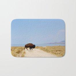 Buffalo Crossing Utah Bath Mat