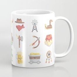 CUTE WILD WEST / COWBOY PATTERN Coffee Mug