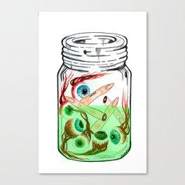 Pickled Enemies Canvas Print