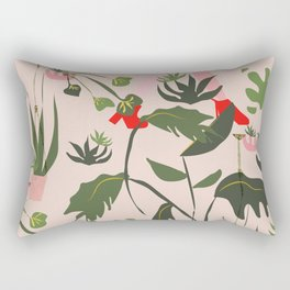 Rose Gilrs Party Rectangular Pillow