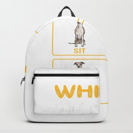 Whippet Guide To Training Dog Obedience T-Shirt Backpack