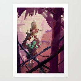 The Bounty Hunter Art Print