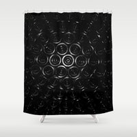 wine Shower Curtains featuring Wine? by Ian Bevington