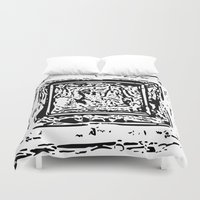 frame Duvet Covers featuring Life Frame by ArteGo