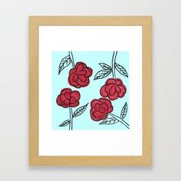 Poppyish Framed Art Print