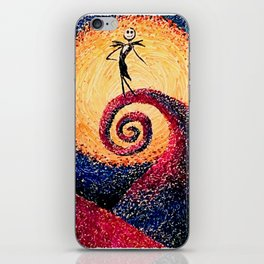 The Pumpkin King iPhone Skin