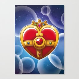 Sailor Moon - Cosmic Heart Canvas Print