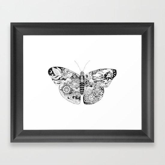 Little Adventurer Framed Art Print