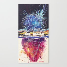 In Unity Canvas Print