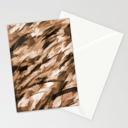 Beige Designer Camo Stationery Cards