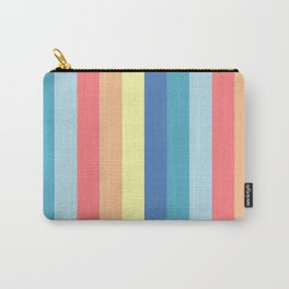 Fun Stripes - wide Carry-All Pouch