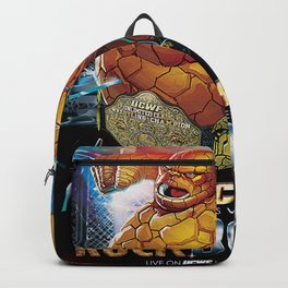 UCWF: Unlimited Class Wrestling Federation PPV Poster Backpack