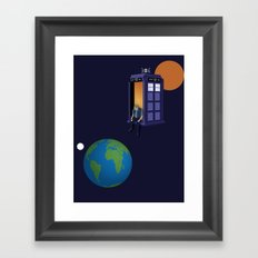 A WhoView Framed Art Print