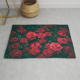 When Love Blooms Rug