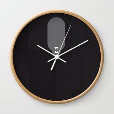 Famous Capsules - Alien Wall Clock