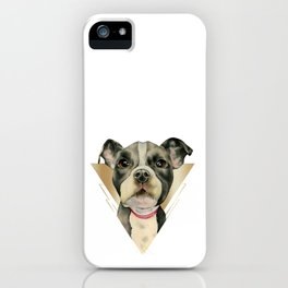 Puppy Eyes 4 iPhone Case