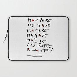 Love and crash Laptop Sleeve