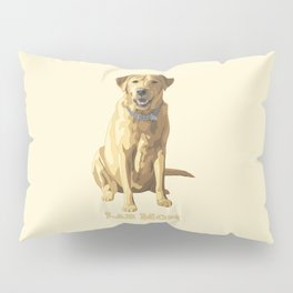 Dog Mom Yellow Labrador Retriever Pillow Sham