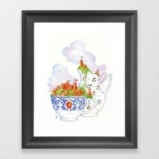 Teacup Kingdoms Framed Art Print