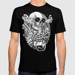 Light It Up - Skeleton Stoner T-shirt