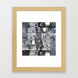 Proceeds delivered unobtrusively through hideouts. [C] Framed Art Print