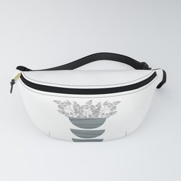 Mid Century Modern Abstract Forms Fanny Pack