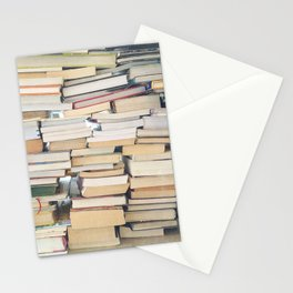 Books, Pages, Stories Stationery Cards