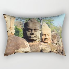 Beauty of Cambodia Rectangular Pillow