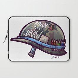 Born To Draw Laptop Sleeve