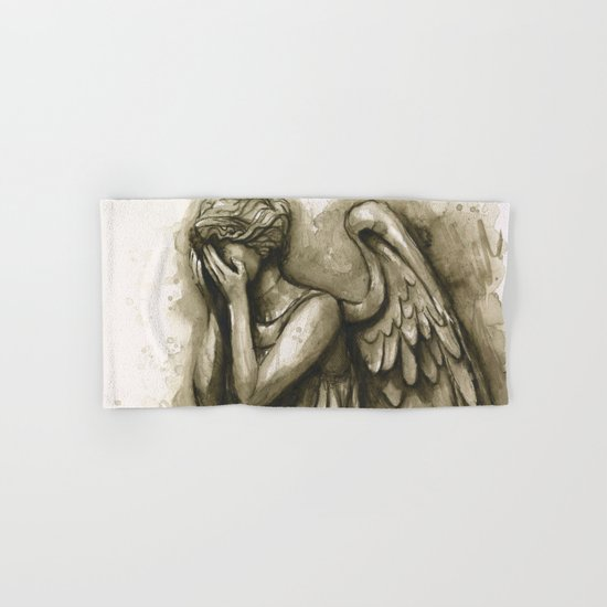 Weeping Angel Hand & Bath Towel