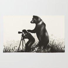The Bear Encounter II Rug