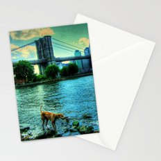 New York Brooklyn Bridge Stationery Cards