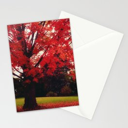 Scarlet Stationery Cards