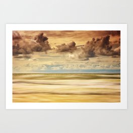 Stormy North Sea Art Print