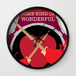 80s TEEN MOVIES :: SOME KIND OF WONDERFUL Wall Clock