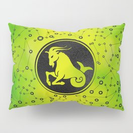 Capricorn Zodiac Sign Earth element Pillow Sham