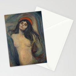Madonna by Edvard Munch Stationery Cards