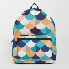 Autumn Mermaid Scales Backpack