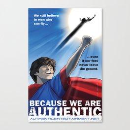 Authentic Productions Entertainment poster Canvas Print